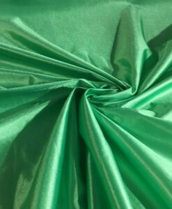 Satin punto charmeuse verde Brazile