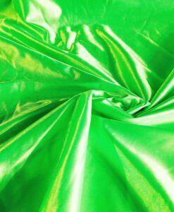 Satin maille charmeuse vert fluo