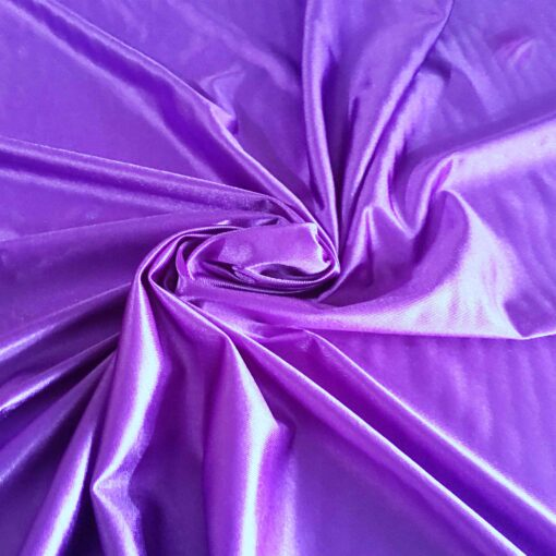 Satin maille charmeuse violet
