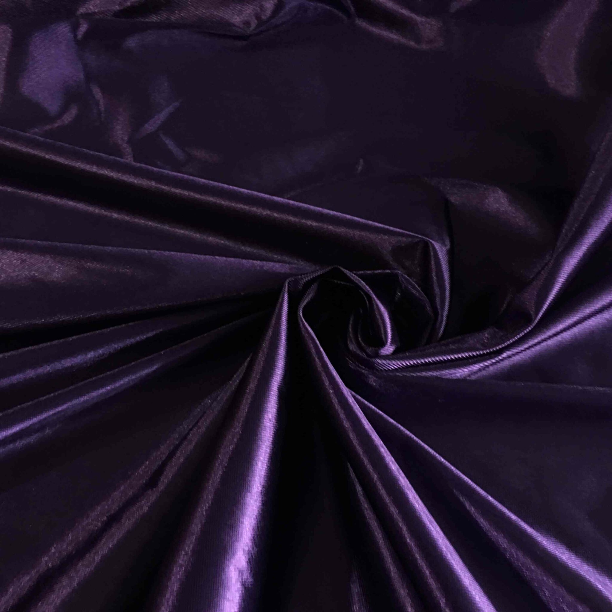 """5 mètres deux tons foncé prune polyester violet mousseline tissu.. 60/"""" large"""