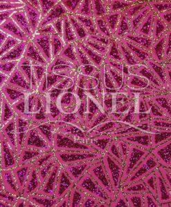 Satin Hintergrund glitzernde pinkfarbenen Pailletten pink und gold