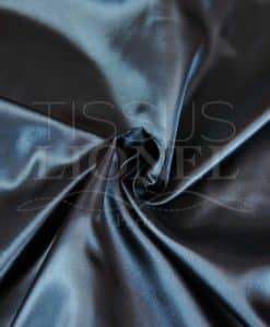 plain black satin