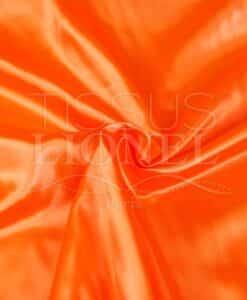 Сатин единый флуоресцентный оранжевый