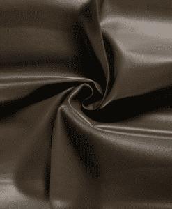 Simili cuir marron taupe