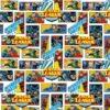 tissu coton superman bd