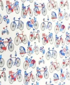 Tissu coton bicyclette