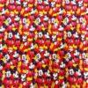 Tissu coton bio Mickey red
