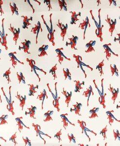 Spider-Man Marvel Bio-Baumwollstoff