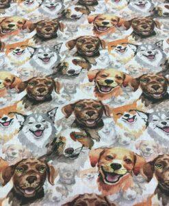 Собака из хлопковой ткани