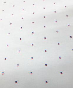 Tissu coton drapeau tricolor
