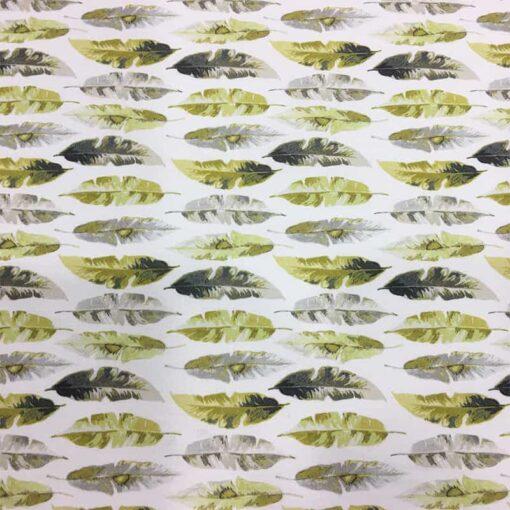 Tissu coton feuille de bananier