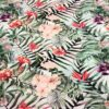 Tissu coton flamingo tropical