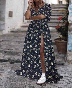 Tissu coton fleurs d'été