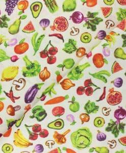 Tissu coton fruit