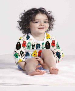 Tissu coton gnome
