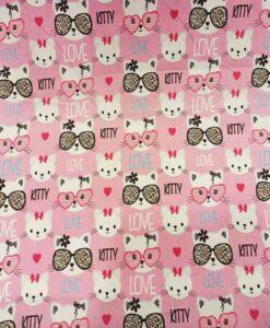 Tissu coton Hello Kitty