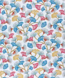 Tissu coton imprimé aphrodite blanc