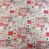Tissu coton imprimé boîte à couture