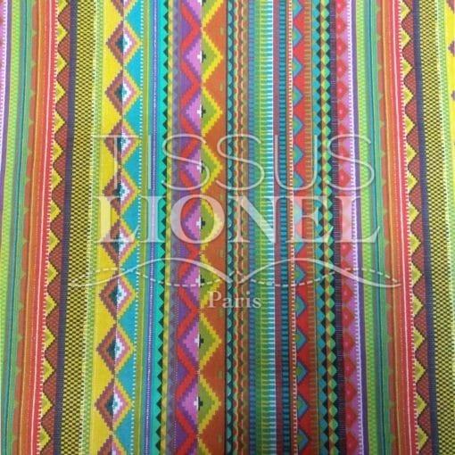 Tissu coton imprimé mexico