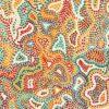 Tissu coton imprimé motif Aborigéne