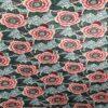 Tissu coton imprimé motif bouquet de fleurs 18 m