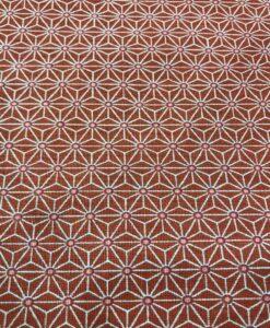 Geometrischer Würfelmuster-Ziegelsteinhintergrund des Baumwollgewebes