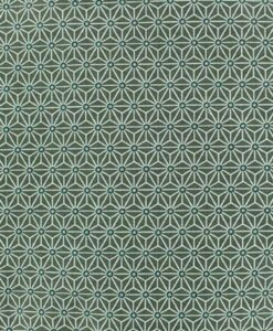 Baumwollstoff gedruckt geometrischen Würfelmuster Khaki Hintergrund