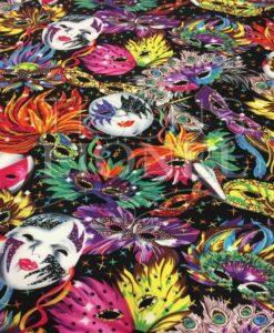 Tissu coton imprimé Venise