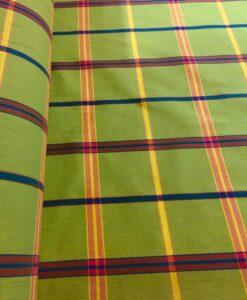 Tissu coton madras 058