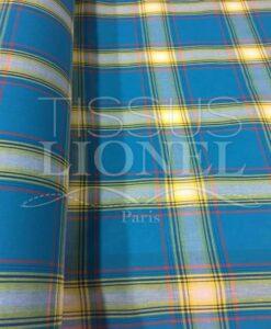 Tissu coton madras 060