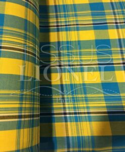 Tissu coton madras 061