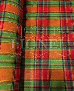 Tissu coton madras 067