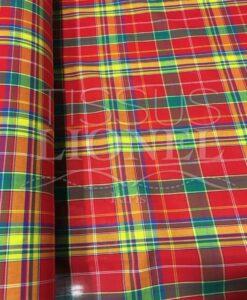 Tissu coton madras 068