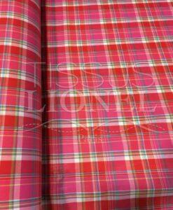 Tissu coton madras 071