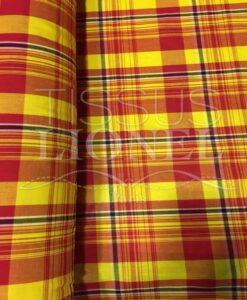 madras tessuto di cotone 075