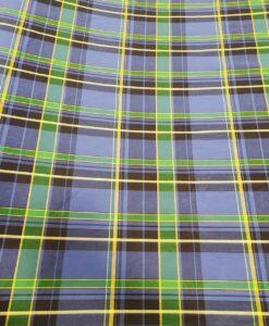 Tissu coton madras 081