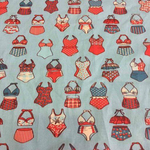 Tissu coton maillot de bain France