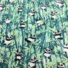 Tissu coton motif imprimé panda