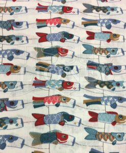 patroon gedrukt katoen fish vliegers
