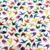 Tissu coton origami
