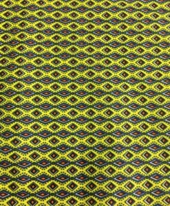Cotton fabric small anise green wax
