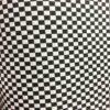 Tissu coton polyester damiers
