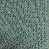 Tissu coton style Wax Africain kita turquoise