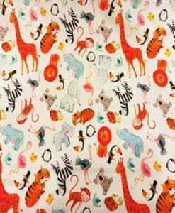 Зоопарк хлопчатобумажной ткани