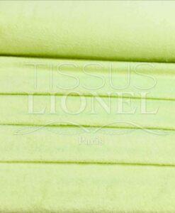 Tissu eponge pistache