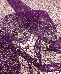 maglia viola tessuto scintillante viola