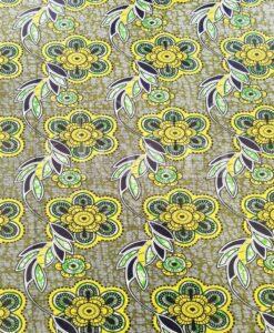 Tissu fleurs de printemps