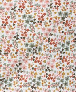 Tissu jersey de coton milly rose-1