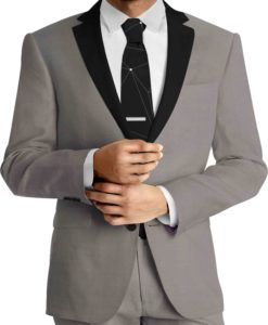 gray woolen cloth