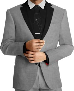 Cloth Dark gray wool suit by Woolmark